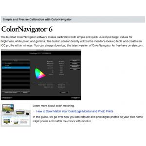 Eizo ColorEdge CG277-BK ColorEdge